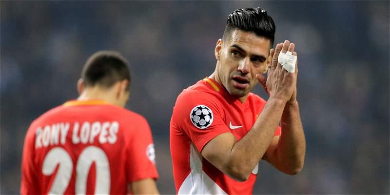 Gol de Falcao no pudo evitar la caída 5-2 de Mónaco contra Porto