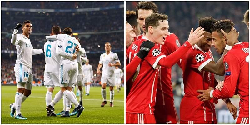 Bayern y Real Madrid, equipos que nadie quiere en octavos de Champions