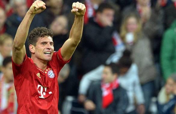 Mario Gómez, la garantía de gol del Bayern en su camino a la final