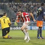 Olimpiakos ganó en Francia, superó 1-2 a Montpellier en 'Champions'