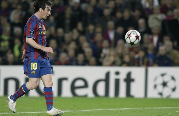 Con cuatro goles de Messi, Barcelona goleó 4-1 al Arsenal en la 'Champions'