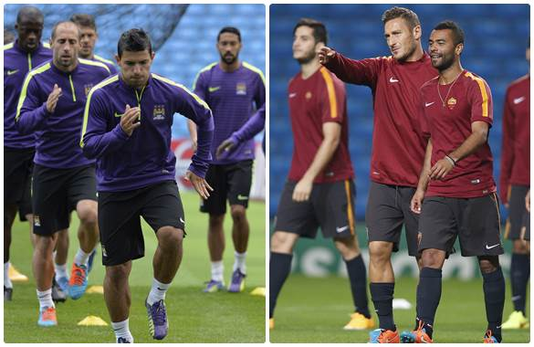 Ver Manchester City vs AS Roma En vivo Por Internet