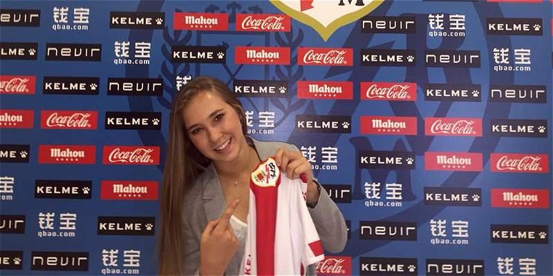 Nicole Regnier es nueva jugadora de Rayo Vallecano