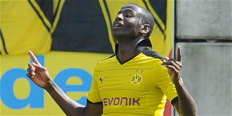 Tras tres meses de baja, Ramos volvió a jugar y marcó para Dortmund