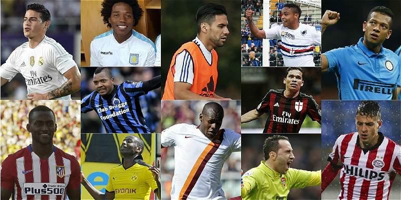 Bienvenido agosto: los futbolistas colombianos arrancan en Europa