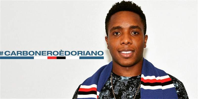 Carlos Carbonero es nuevo jugador de Sampdoria, de Italia