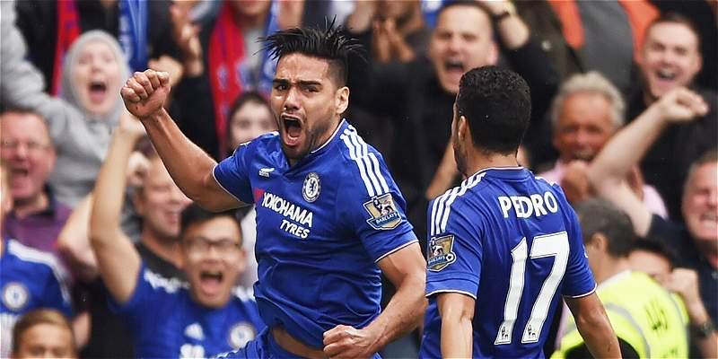 Falcao volvió al gol, pero Chelsea cayó 1-2 frente a Crystal Palace