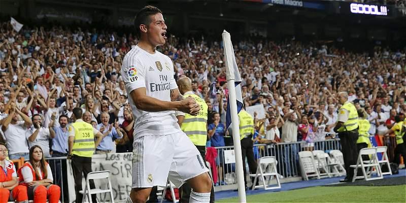 James, la gran figura de Real Madrid en el triunfo 5-0 sobre Betis
