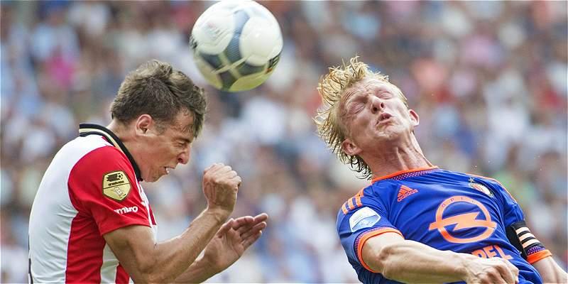 Arias se reportó con gol en Holanda: PSV le ganó 3-1 al Feyenoord