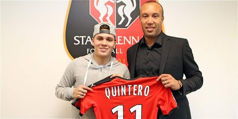 Juan Fernando Quintero Stade Rennes