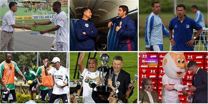 Las mejores fotos de la carrera de Juan Carlos Osorio