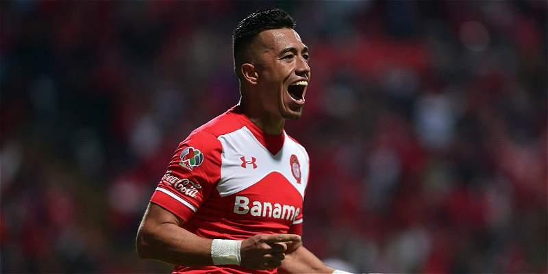 Un gol de Fernando Uribe le dio a Toluca el paso a semifinales en Liga