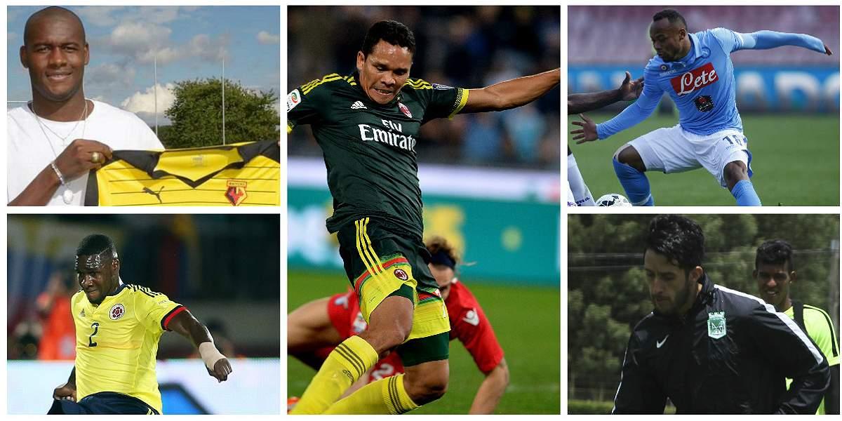 Fichajes De Jugadores Colombianos Colombianos En El Exterior