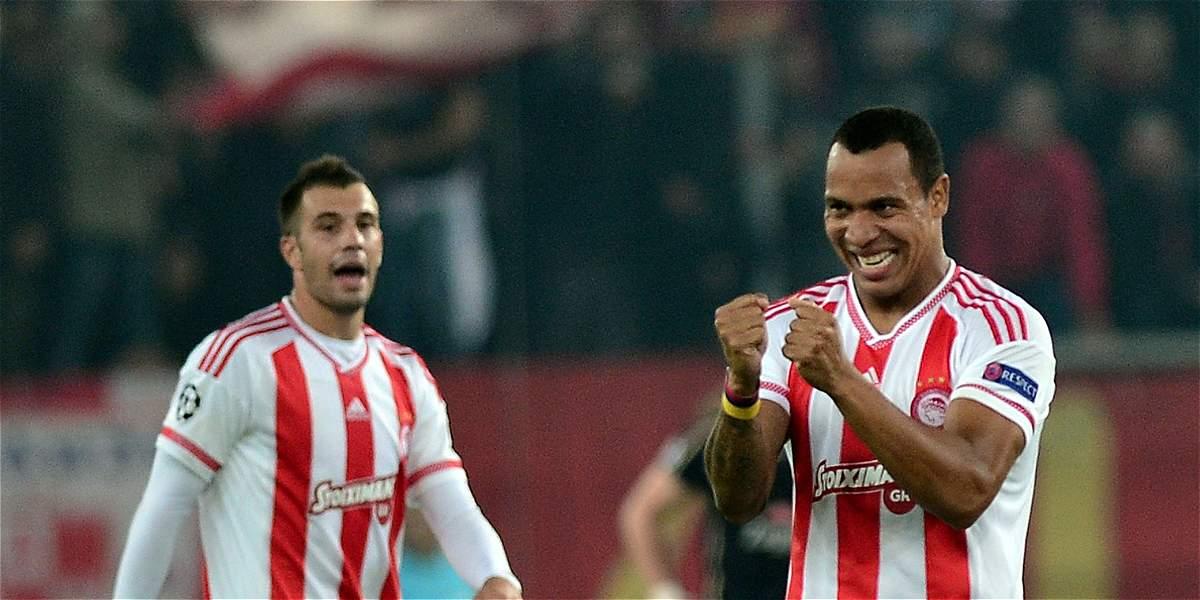 Felipe Pardo marcó un golazo con Olympiacos en la Copa de Grecia