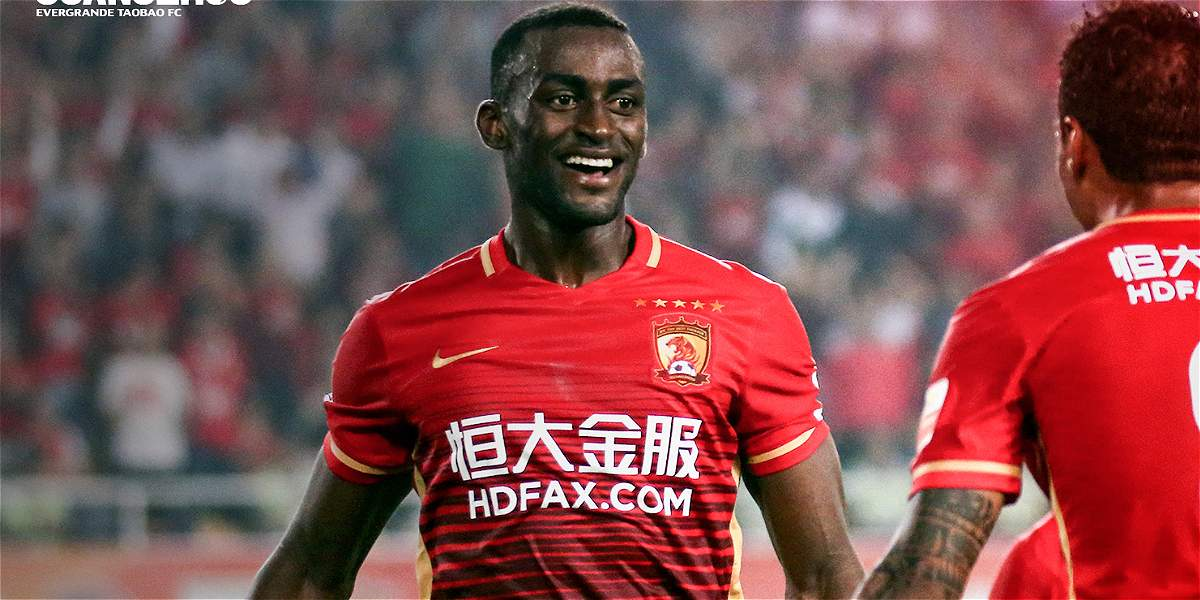 Jackson Martínez marcó gol en el 2-0 del Guangzhou sobre Guangzhou R&F