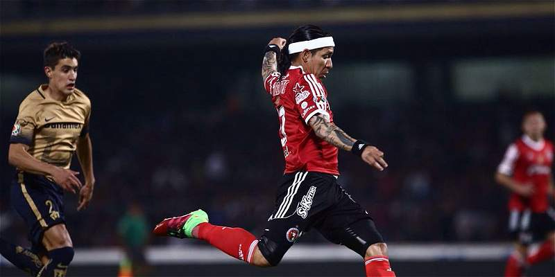 Gol de Dayro Moreno no le alcanzó a Tijuana, que perdió 3-1 con Pumas