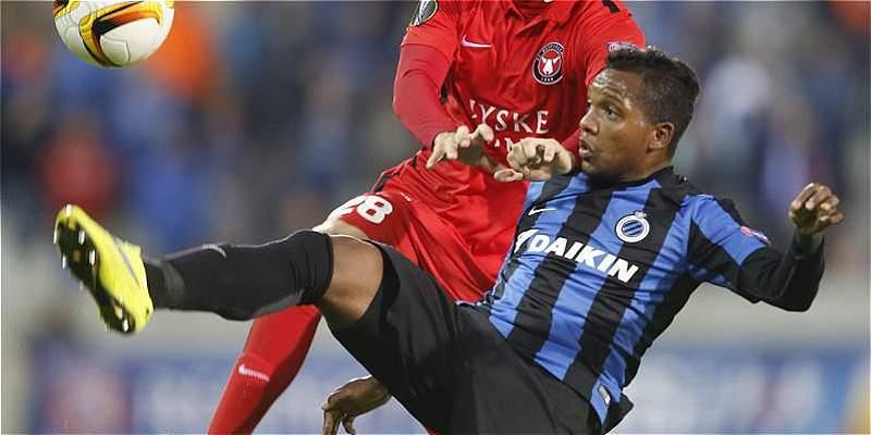 José Izquierdo anotó en la goleada de Brujas: 5-0 sobre Zulte-Waregem
