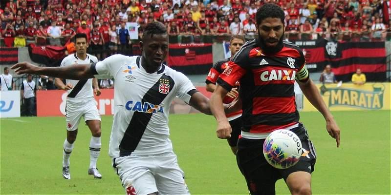 Duvier Riascos, a la final del Campeonato Carioca con Vasco de Gama