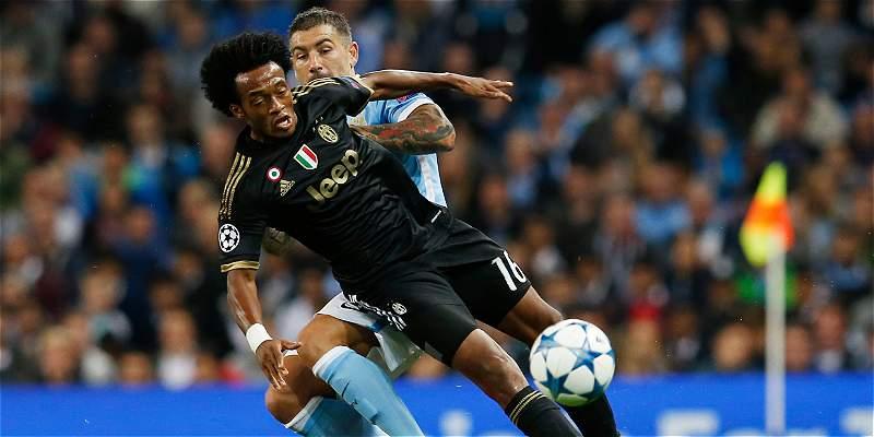 Cuadrado, tema en Europa: Juventus y Chelsea lo quieren tener