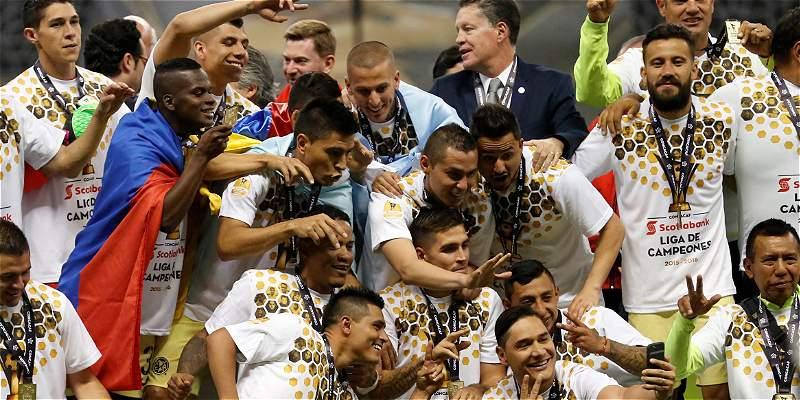 Darwin Quintero y Andrés Andrade: campeones de la Concachampions