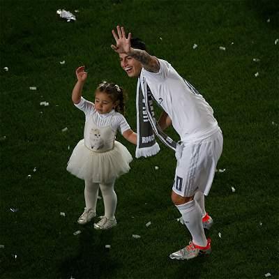 James Rodríguez celebración Real Madrid