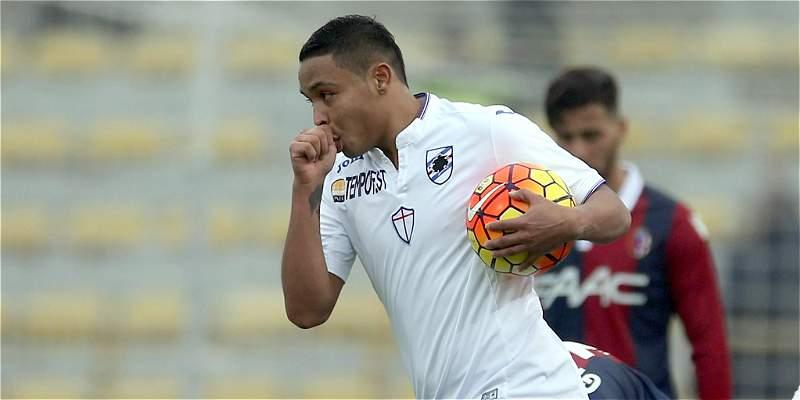 Torino habría ofrecido 6 millones de euros a Sampdoria por Luis Muriel