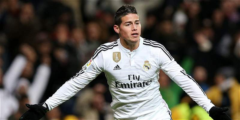 Real Madrid quiere vender a James Rodríguez en 77 millones de euros