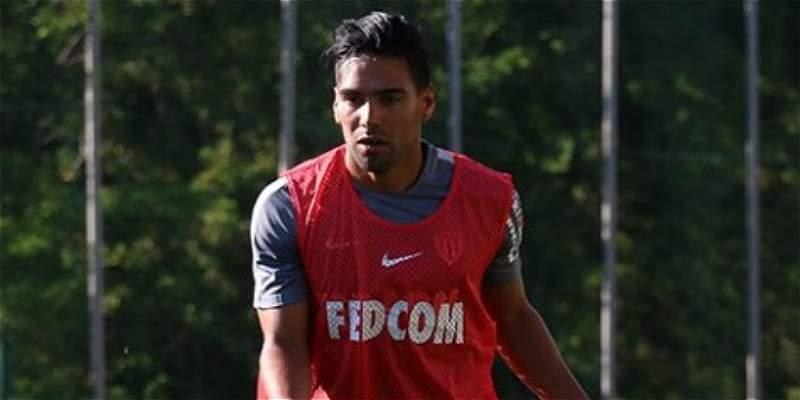 Falcao García marcó gol en su primer entrenamiento con Mónaco