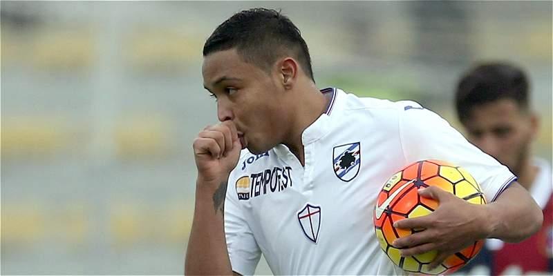 Muriel marcó gol en el 13-1 de Sampdoria sobre Sellero Novelle