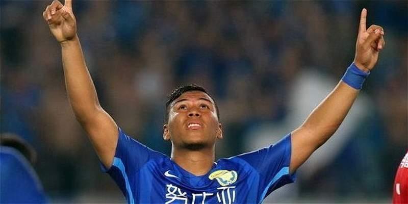 Roger Martínez sigue mostrando su poder goleador en China