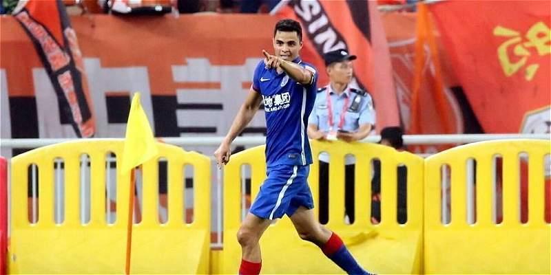 Giovanni Moreno le dio el triunfo a Shanghái Shenhua, en la Liga China