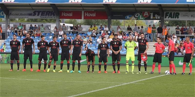 Celis tuvo minutos en el triunfo 2-0 de Benfica sobre Wolfsburgo