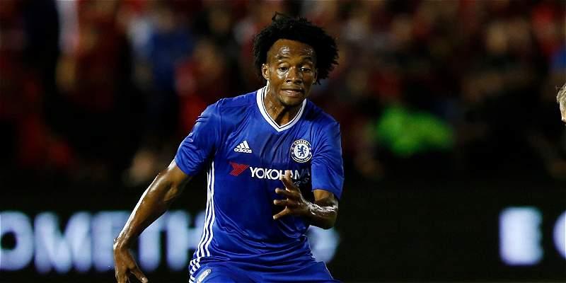 Cuadrado jugó en triunfo 1-0 de Chelsea sobre Liverpool, en amistoso