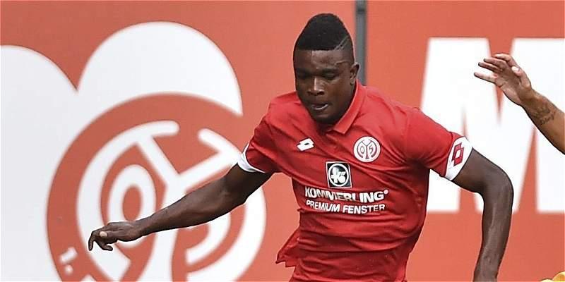 Jhon Córdoba y Pablo Armero jugaron amistosos con Mainz y Udinese