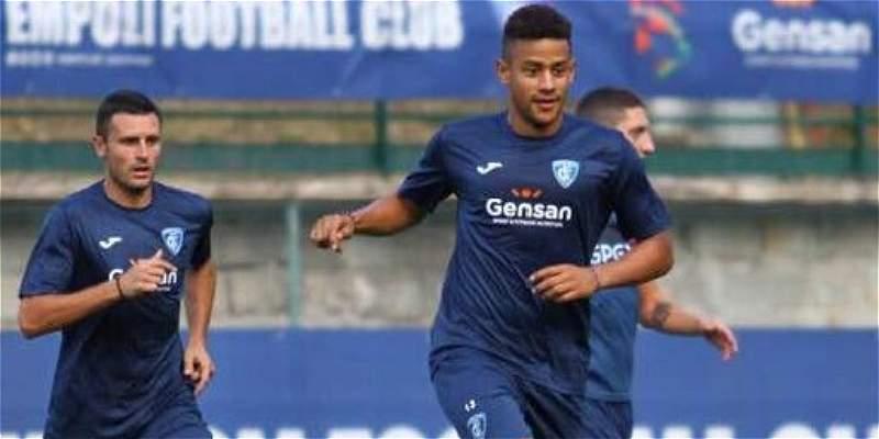 Andrés Tello anotó en la goleada 12-0 de Empoli sobre Montelupo