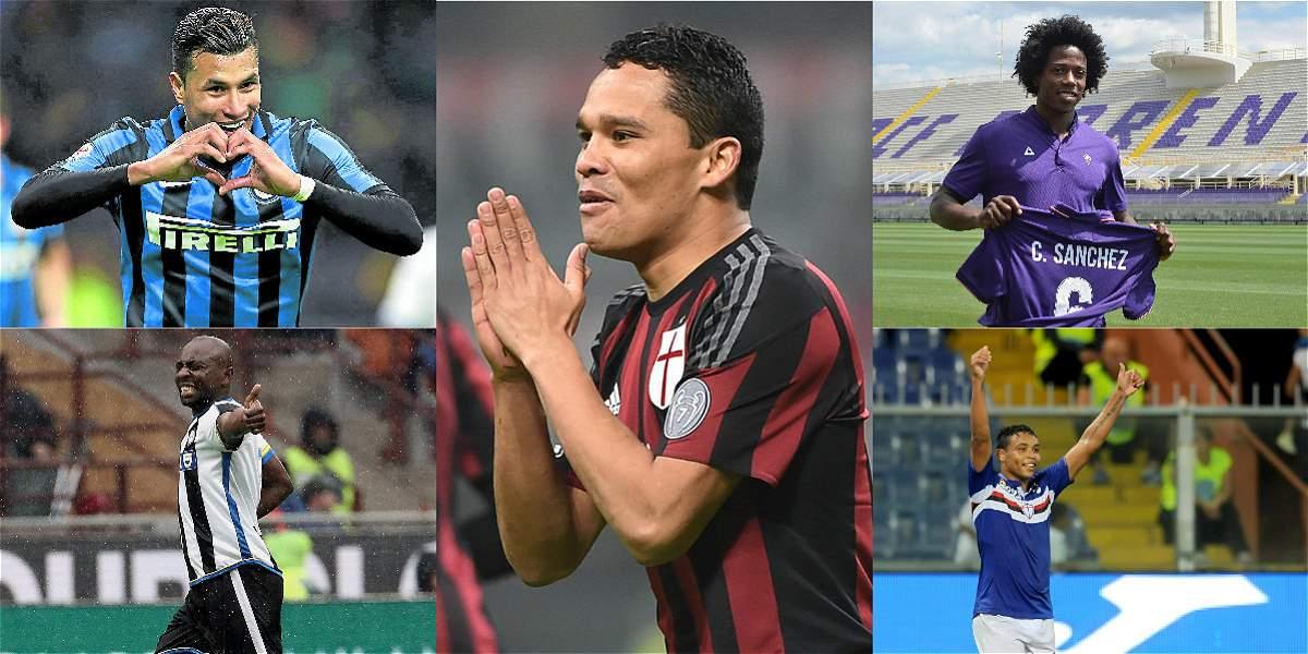 Los Jugadores Colombianos Que Jugar N En La Liga De Italia Colombianos En El Exterior