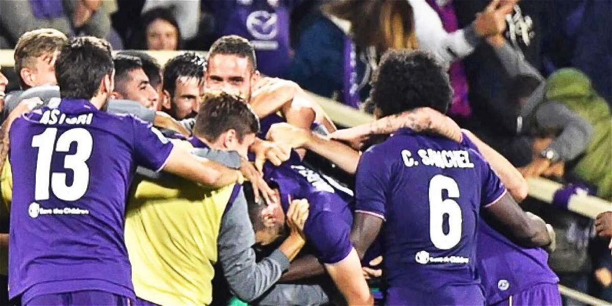 Fiorentina informó que Sánchez está bien y podrá actuar contra Udinese