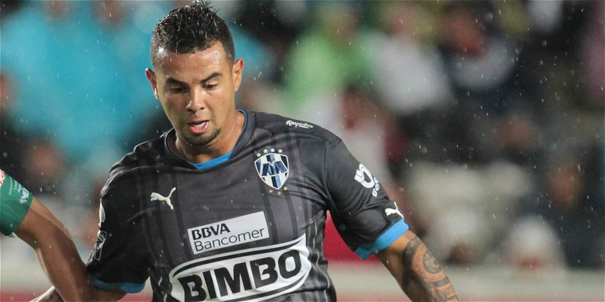 Edwin Cardona, baja del Monterrey por una lesión en el tobillo derecho