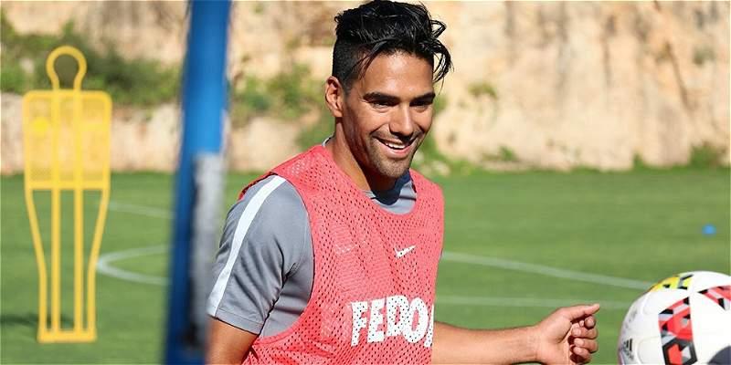 Falcao García sigue en reposo, informó Mónaco este domingo