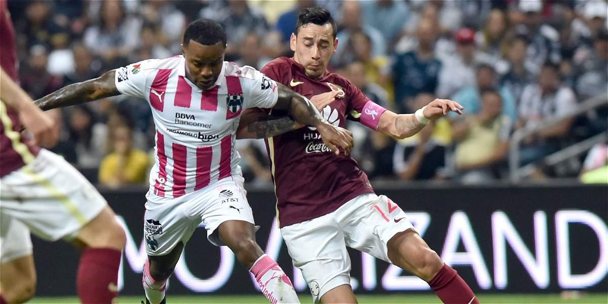 Monterrey empat 1 1 con am rica con gol de dorlan pab n Divorcio de colombianos en el exterior