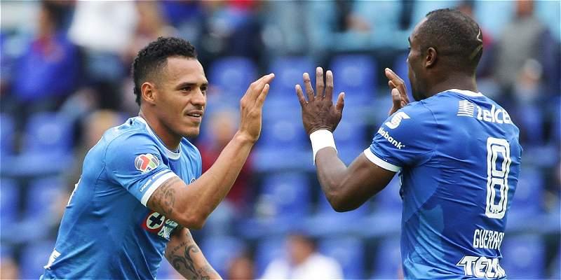 Aldo Leao volvió al gol con Cruz Azul, que perdió 1-2 con Puebla