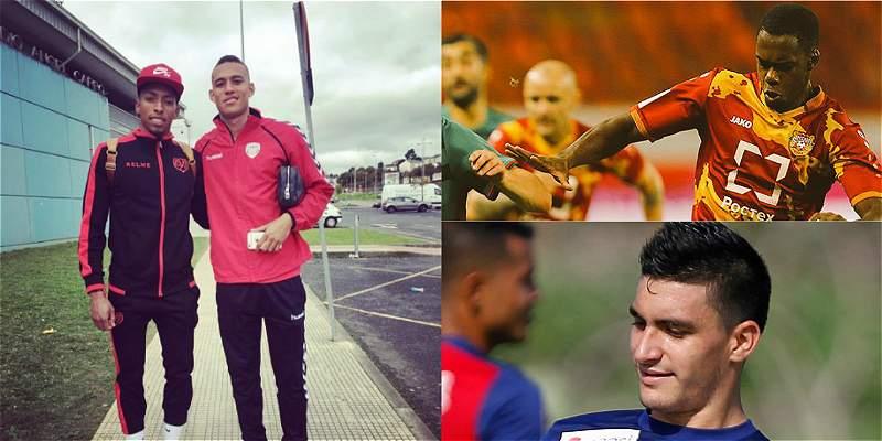 Los jugadores jóvenes colombianos que están \'perdidos\' en Europa