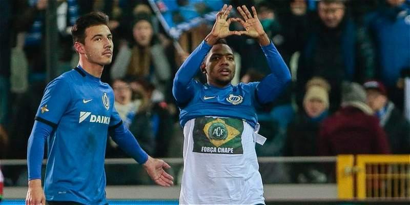 Con gol de José Heriberto Izquierdo, Brujas derrotó 2-0 al Oostende