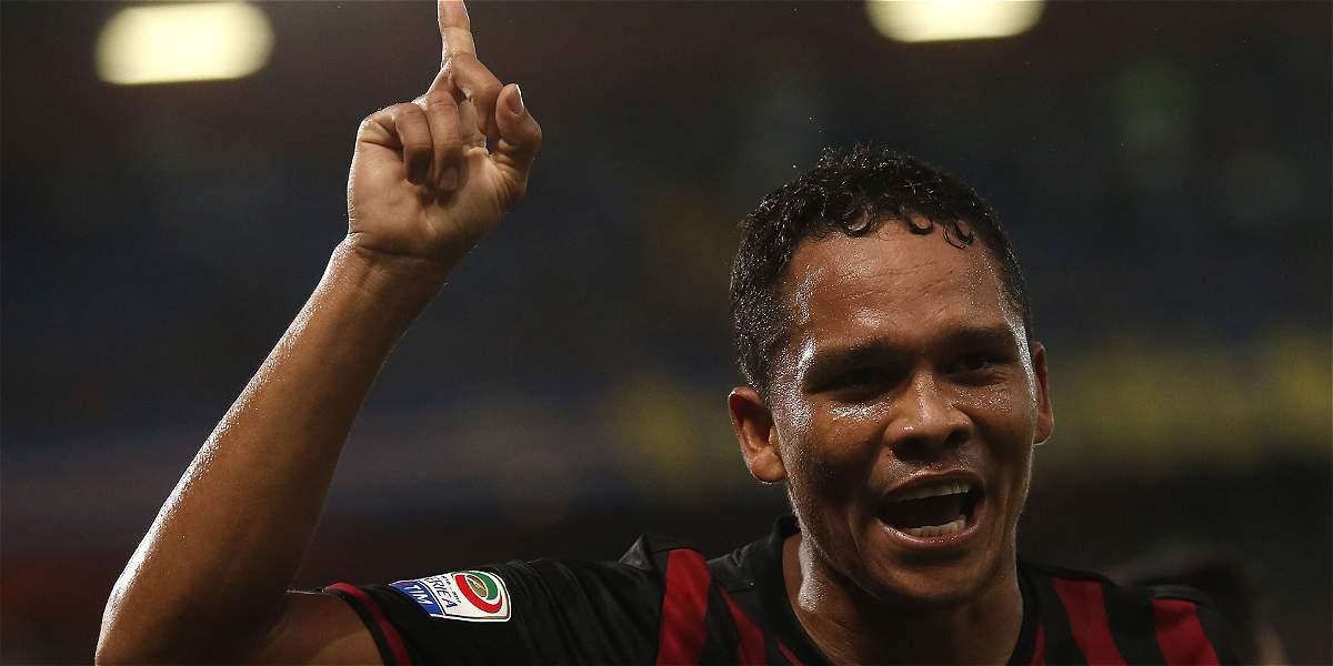Carlos Bacca, otro de los objetivos del fútbol chino