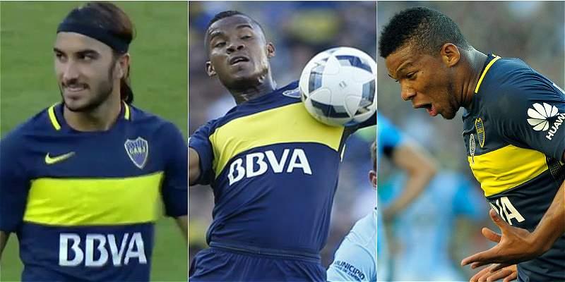 Colombianos Boca  Juniors