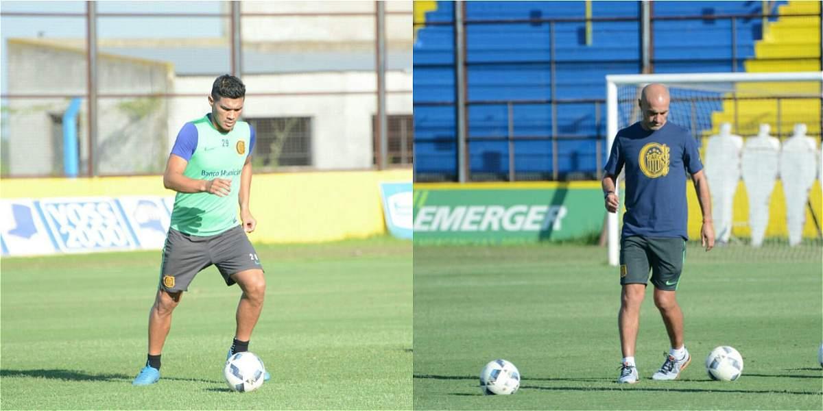 Gutiérrez recibió elogios de su nuevo DT tras primer entrenamiento