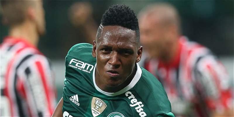 Yerry Mina Palmeiras Barcelona