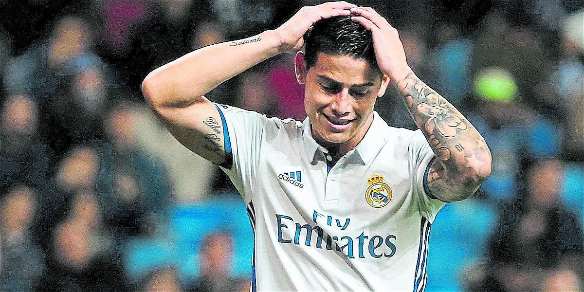 ¿Arriesgarían a James ante la epidemia de lesiones en el Real Madrid?