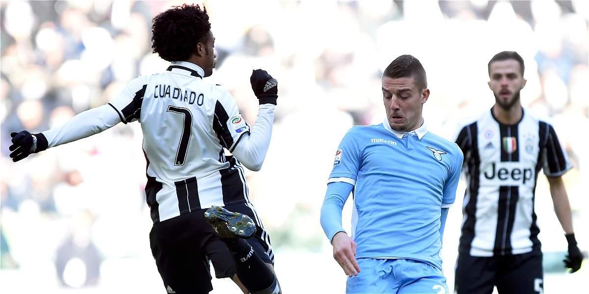Juan Guillermo Cuadrado cumplió 60 partidos con la Juventus