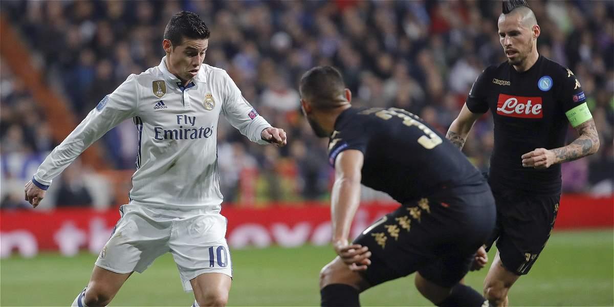 'Estoy feliz en Madrid, quiero estar aquí por muchos años más': James